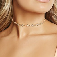 Iridescent Star Choker