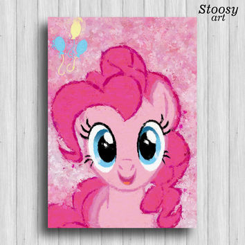 Pinkie Pie my little pony poster nursery decor