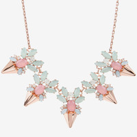 Jewelled arrow necklace - Pink | Jewellery | Ted Baker ROW