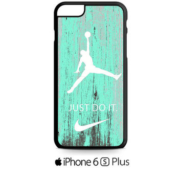 Nike Jordan Mint Wood iPhone 6S  Plus  Case