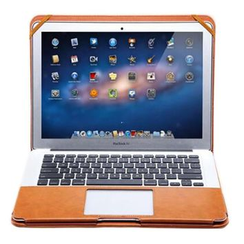 Faux Leather Stand Cover Case for MacBook Pro 2016 13 Touch Bar /No Touch Bar Laptop Sleeve Bags for Mac A1706 A1708