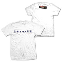 Ministry of Silly Walks Evolution White T-Shirt Small