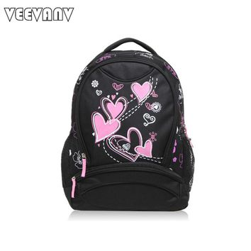 VEEVANV 2017 Printing Backpack Women Backpacks New Laptop Travel Bags Children Bag School Backpack for Girls Women Shoulder Bags