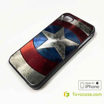 CAPTAIN AMERICA Avengers iPhone 4/4S 5/5S/SE 5C 6/6S 7 8 Plus X Case Cover