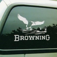 "Browning Wildlife Scene 10"" Decal - Goose"