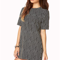 Retro Geo Shift Dress