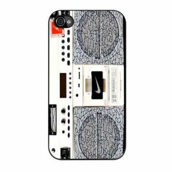 DCKL9 Nike Air Jordan Radio Boombox iPhone 4s Case