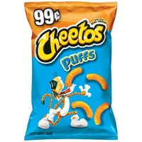 Cheetos Puffs Cheese Flavored Snacks, 3.75 oz - Walmart.com
