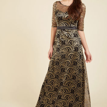 Divine in Mind Maxi Dress | Mod Retro Vintage Dresses | ModCloth.com