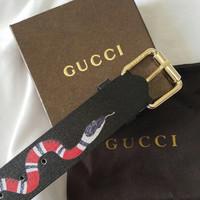 Men's Gucci Snake Belt