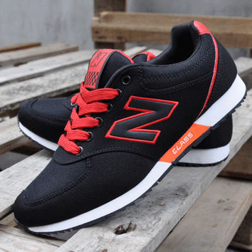 NEW BALANCE Women Men Casual Running Sport Shoes Sneakers Black