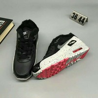 NIKE AIR MAX 90 Women Men Casual Running Sport Thick Shoes Sneakers G-MPYDX