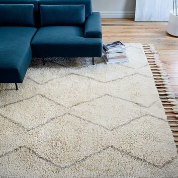 SOUK WOOL RUG - NATURAL