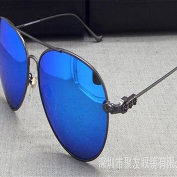 DOWER ME Polarized Driver Sunglasses Unisex Goggle Eyewear Gold Silver Brand Design Retro Men Women Sunglasses