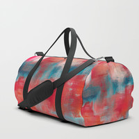 Improvisation 69 Duffle Bag by ViviGonzalezArt