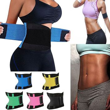 Women Waist Trainer Belt Belly Band Belts Hot Body Shaper After Birth Slim Belt Corset Postpartum Tummy Trimmer Body Fat Burne