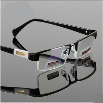 Titanium Alloy Antirrflective coated with box Senator oculos gafas de lectura business reading glasses+1 +1.5 +2 +2.5 +3 +3.5 +4