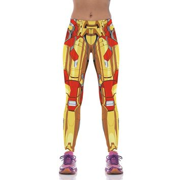 Iron Man Printed Leggings