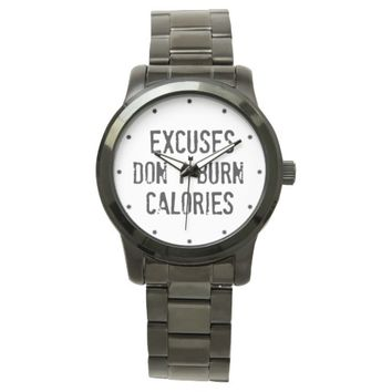 Motivational Fitness Quote Watch