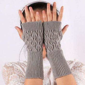 ca PEAPTM4 Gloves Hollow Out Korean Leaf Pc Sleeves [47782068231]