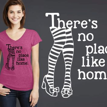 There's No Place Like Home T-shirt | Wizard of Oz
