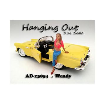 """""""Hanging Out"""" Wendy Figure For 1:18 Scale Models by American Diorama"""