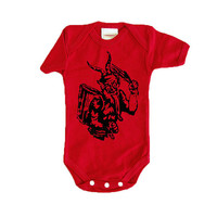 Krampus shirt. Funny Kids Christmas Clothes. Baby Toddler Child Ugly Christmas Sweater 0-3 months, 12 months, 18-24 months, 2T, 3T, 4, 5, 6