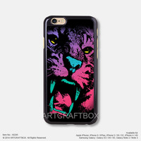 Tiger face illustrator Free Shipping iPhone 6 6 Plus case iPhone 5s case iPhone 5C case 245