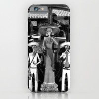Los Muertos iPhone & iPod Case by Derek Delacroix