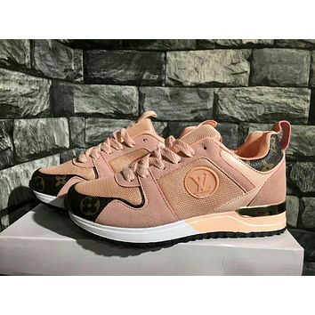 """Louis Vutitton LV"" Women Sport Casual Fashion Cortex Net Yarn knit Running Shoes Sneakers"