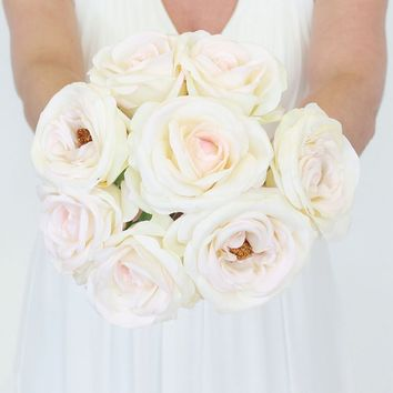 Best Blush Pink Silk Flowers Products On Wanelo