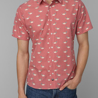ambsn Mallard Duck Button-Down Shirt