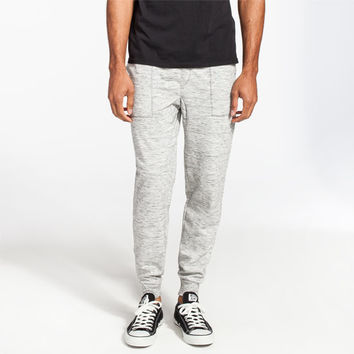 Brooklyn Cloth Space Dye Mens Jogger Pants Grey  In Sizes
