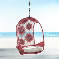 Red Flower Swingasan® Hanging Chair