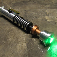 Prodigal Son Custom Saber, not star wars fx luke rotj lightsaber