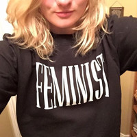 Feminist Sweatshirt for Women