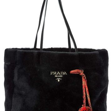 Prada women's shoulder bag original black