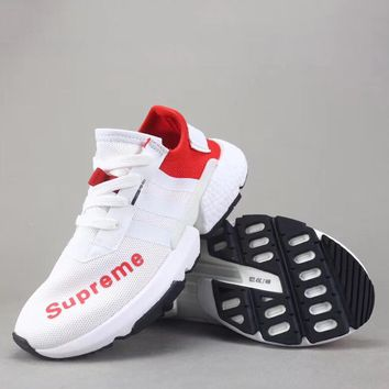 Trendsetter Supreme X Adidas P.O.D System   Women Men Fashion Casual  Sneakers Sport Shoes