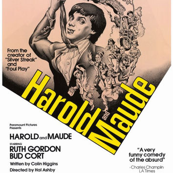 Harold and Maude 11x17 Movie Poster (1979)