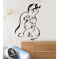 Vinyl Decal Animals Pet Horse Dog Cat Veterinary Wall Stickers Unique Gift (ig2952)