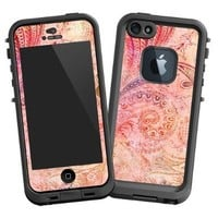 "Bohemian Tribal ""Protective Decal Skin"" for LifeProof fre iPhone 5/5s Case"