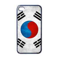 iPhone 4 case, iPhone 4s case, iPhone 4 cover, iPhone 4s cover, South Korea Flag case for Iphone 4