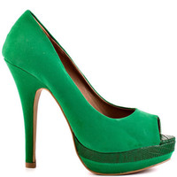 Just Fabulous's Green Jovianne - Green for 59.99 direct from heels.com