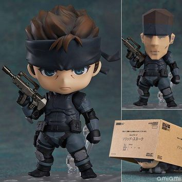 Anime Marvel Nendoroid 447 Metal Gear Solid Cute Kawaii Snake 10cm Action Figure Toys
