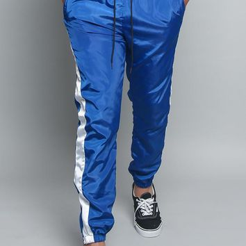 Striped Windbreaker Track Pants TR573 - E7F