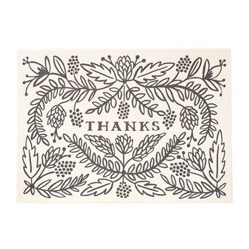 Thanks Card Set by Rifle Paper Co.