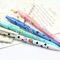 Little Ghost Mechanical Pencil, Cute Kawaii Cartoon, School Supplies, Stationary Journal Writing