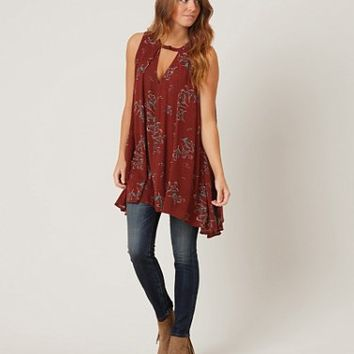 FREE PEOPLE TREE SWING TANK TOP