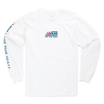 Peaks Camp Long Sleeve T-Shirt | Shop Mens Tees At Vans