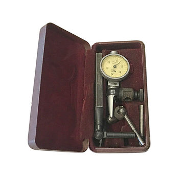 Machinists Gauge, Alina Jeweled Switzerland Tool in Case, Vintage Measuring Device, Original Case